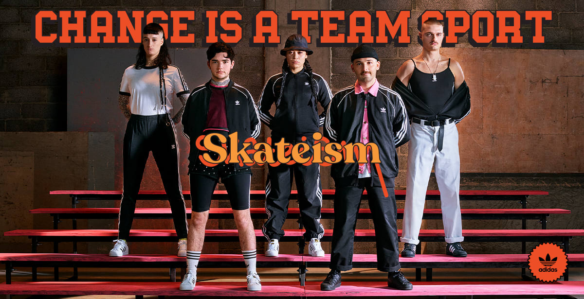 ADIDAS - Athletes Of Change / Skateism