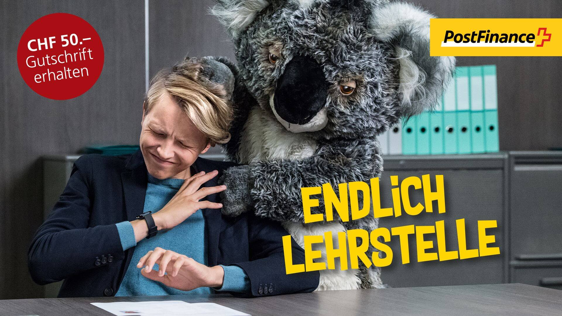 POST FINANCE - ENDLICHERWACHSEN